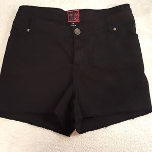Torrid Black Stretch Jean Shorts Size 26